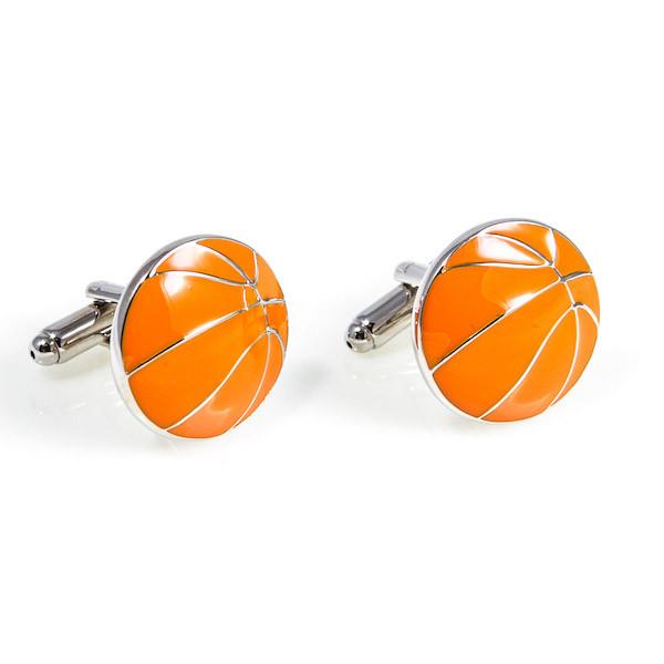 Basketball Cufflinks Presented in a Box X2AJ026