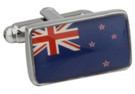 Flag of New Zealand Cufflinks close up image