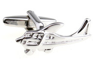 Helicopter Cufflinks with Presentation Gift Box
