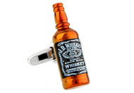 Tennessee Whiskey Bottle Cufflinks close up image