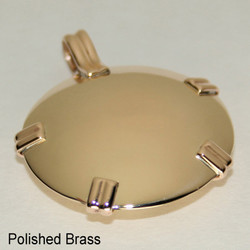All Brass BioElectric Shields - Level One