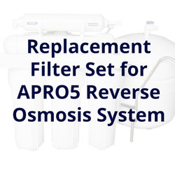 Reverse Osmosis 5 Stage Replacement Filter Set