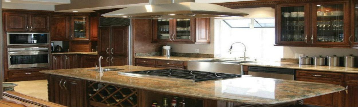 J&K Chocolate Maple Glaze Cabinets