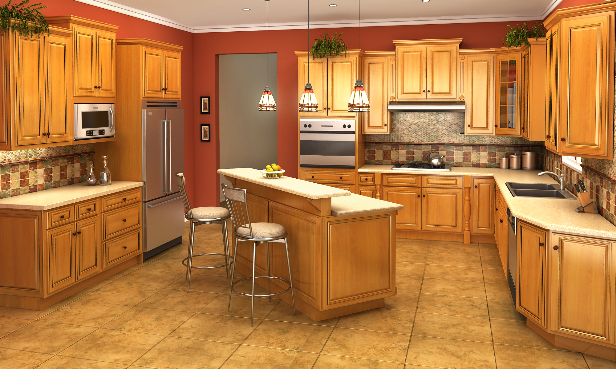 IKS Savannah Kitchen Cabinets at DALCO Kitchens