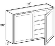 """Perla  Wall Cabinet   36""""W x 12""""D x 30""""H  W3630"""