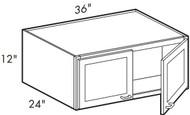 Ebony Shaker  W361224 Wall Cabinet
