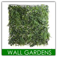 Artificial Vertical Wall Gardens