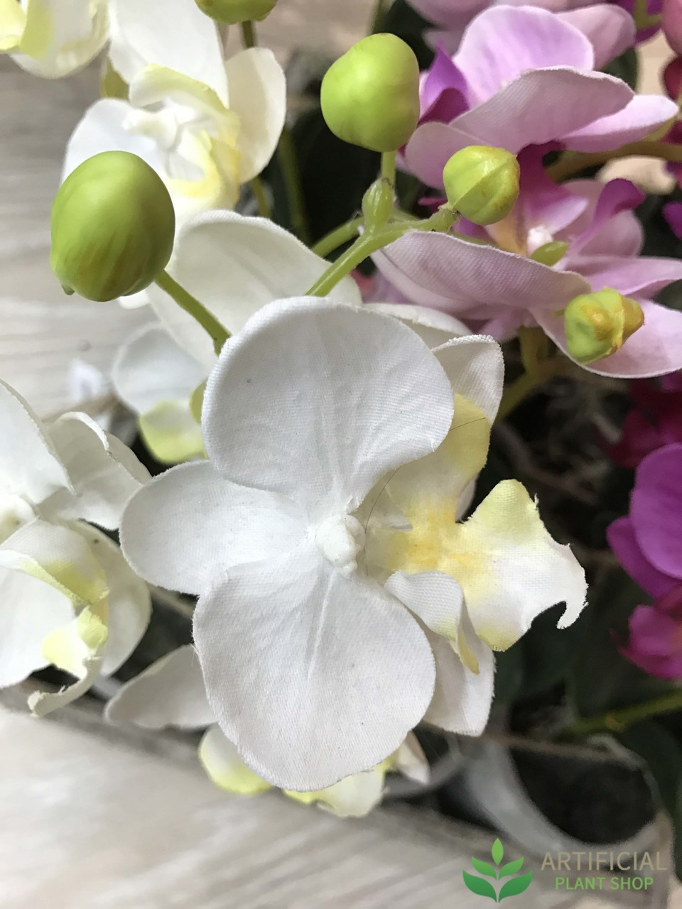 Artificial White Orchid flowers