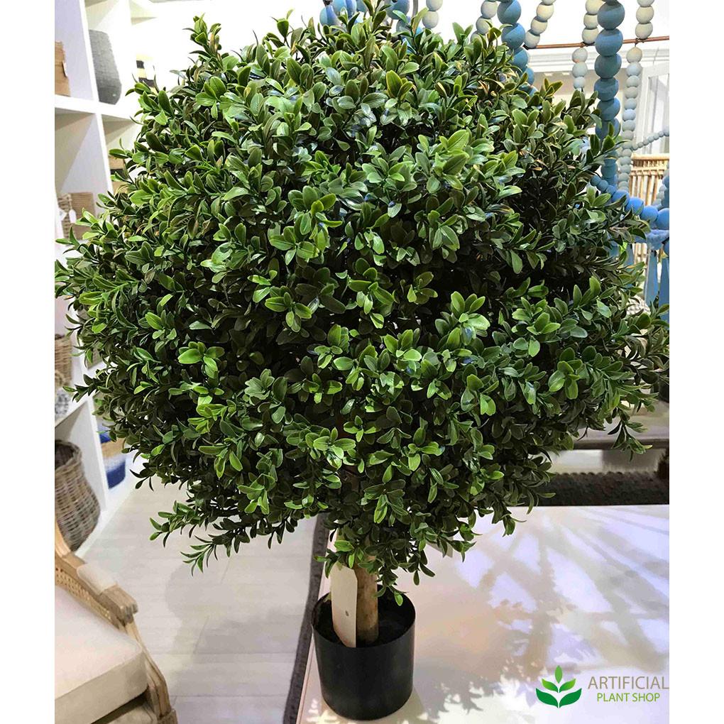 artificial boxwood ball tree