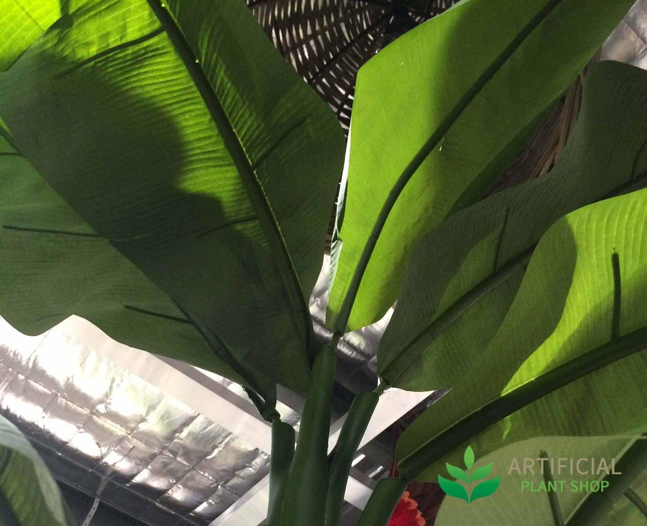 Artificial Banana Tree Leaves
