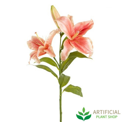 Artificial Flower - Casablanca Peach Lily