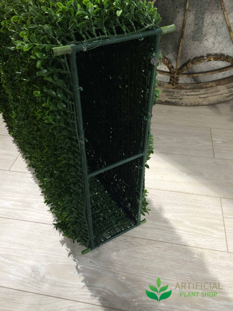 Artificial Boxwood Hedge Frame