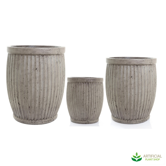 Planter Barrel Set