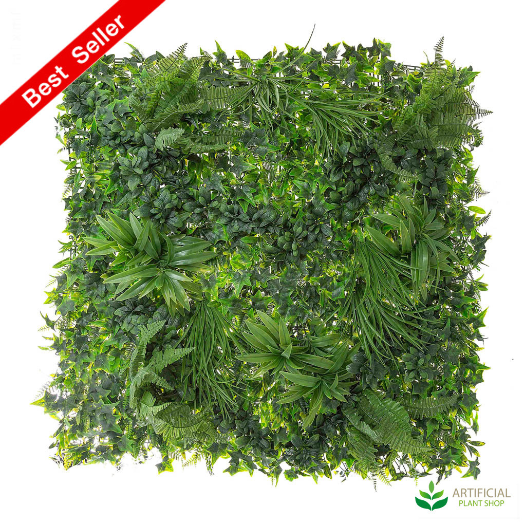 Variegated Vertical Wall Foliage 1m x 1m