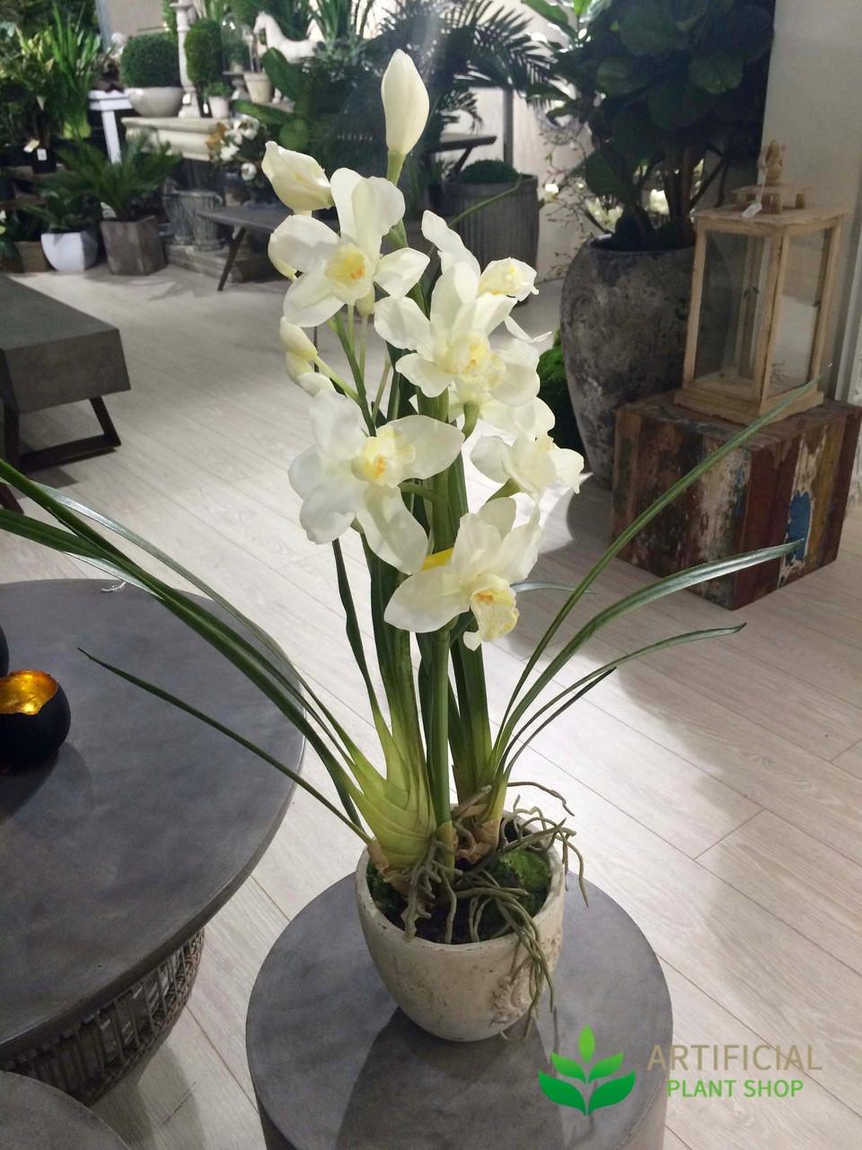 Artificial Cymbidium Orchid Flowers