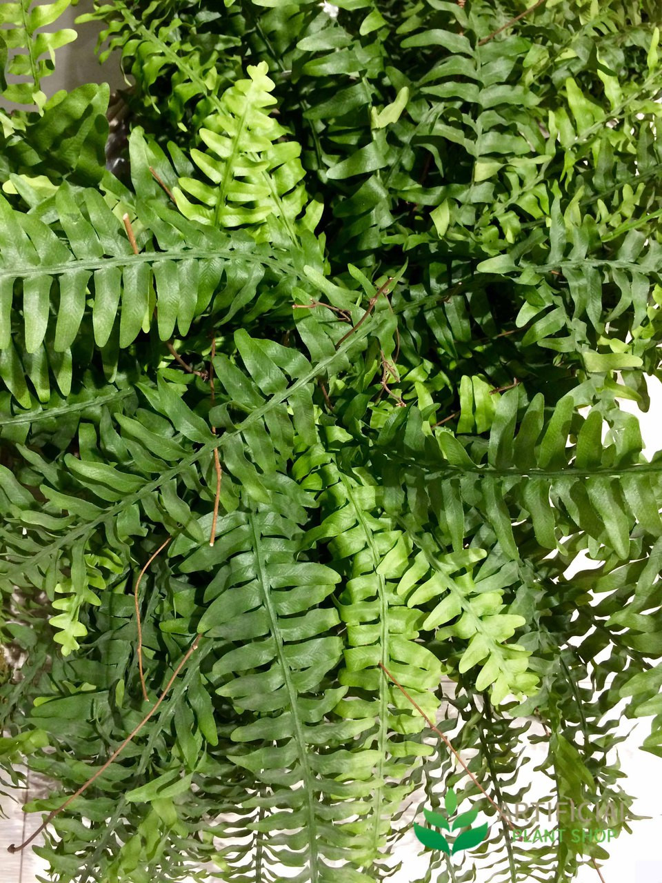 Artificial Boston Fern Leaves