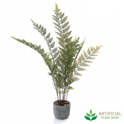 Artificial Fern in pot 89cm