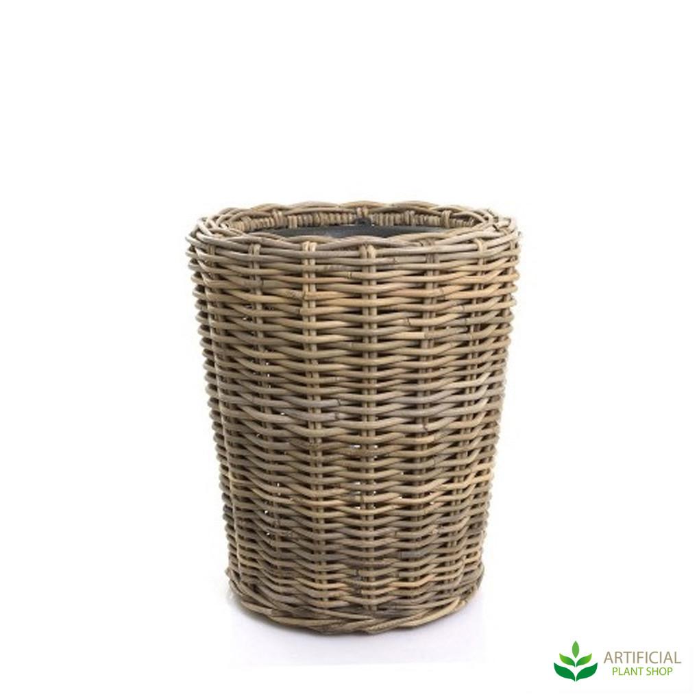 Woven Basket Planter 38cm x 47cm