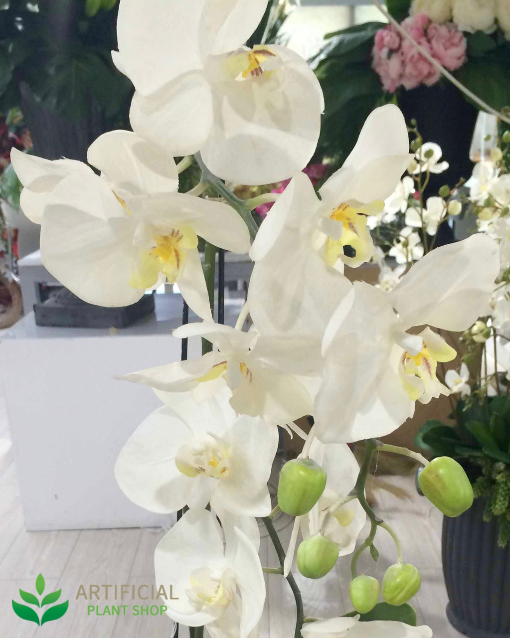 White Orchid - Artificial Flower