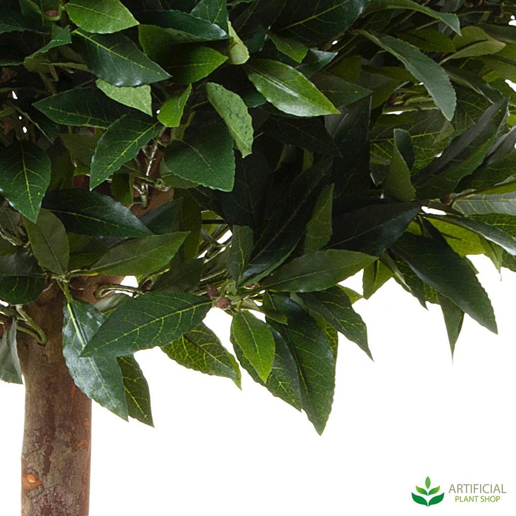 artificial laurel ball tree