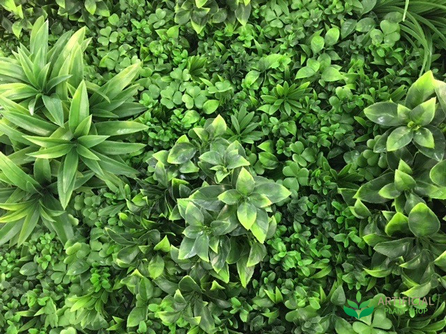 Artificial Greenery Wall Foliage