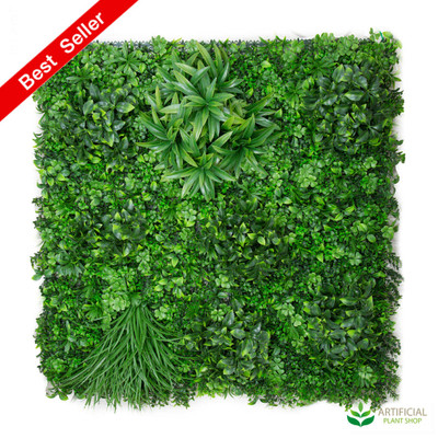 UV Treated Variegated Wall Foliage 1m x 1m