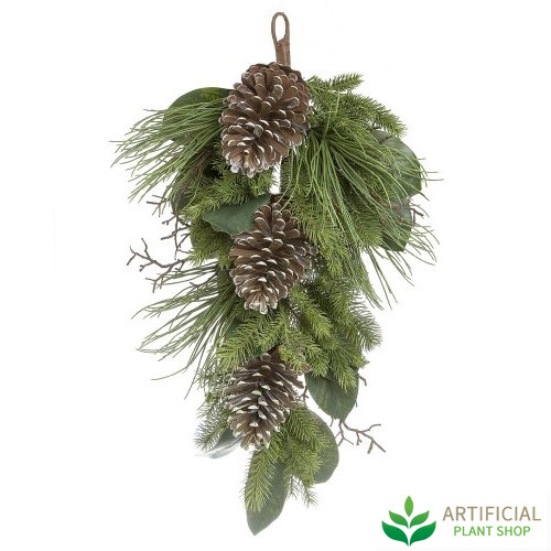 Hanging Pinecone stem 80cm