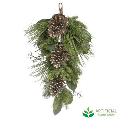 Hanging Pinecone stem 80cm