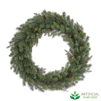Giant Pinecone Wreath 85cm