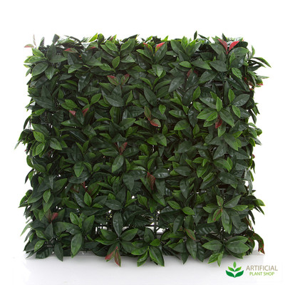 Artificial Leaf Hedge 75x25x25