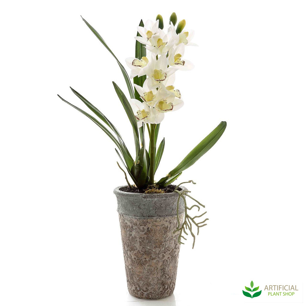 Artificial Jodie Orchid potted 75cm