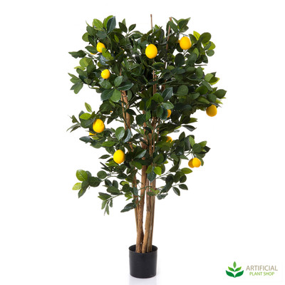Artificial Lemon Tree 1.1m