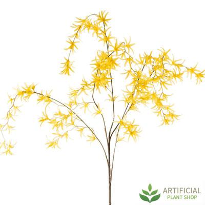 Yellow Orchid Spray 120cm