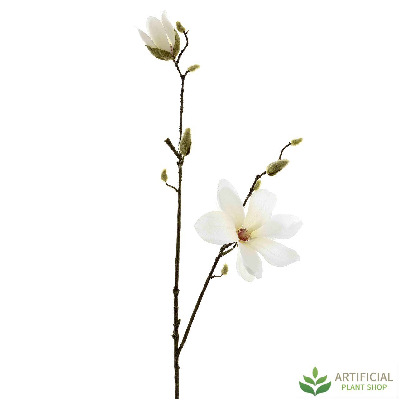 White Magnolia Tree Spray 82cm