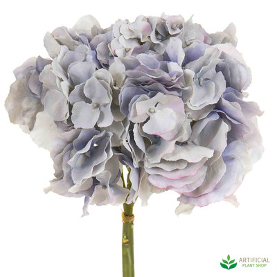 Light Blue Hydrangea Flower Stem