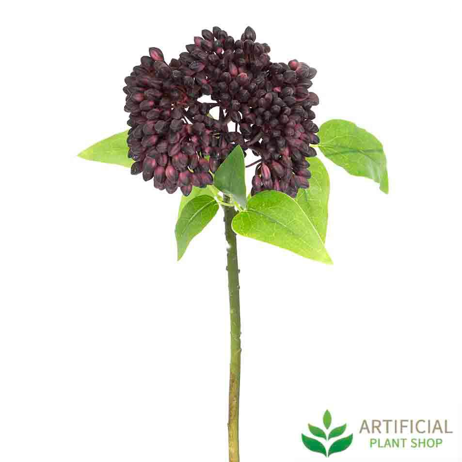 Purple Berry Stem 43cm