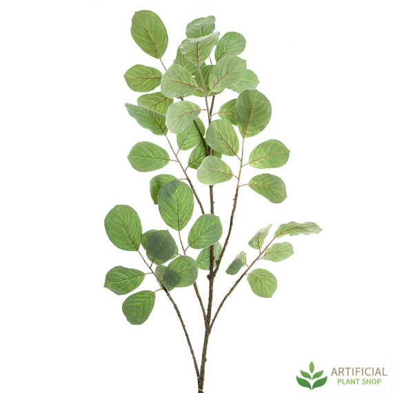 Green Leaf Flocked Branch 176cm