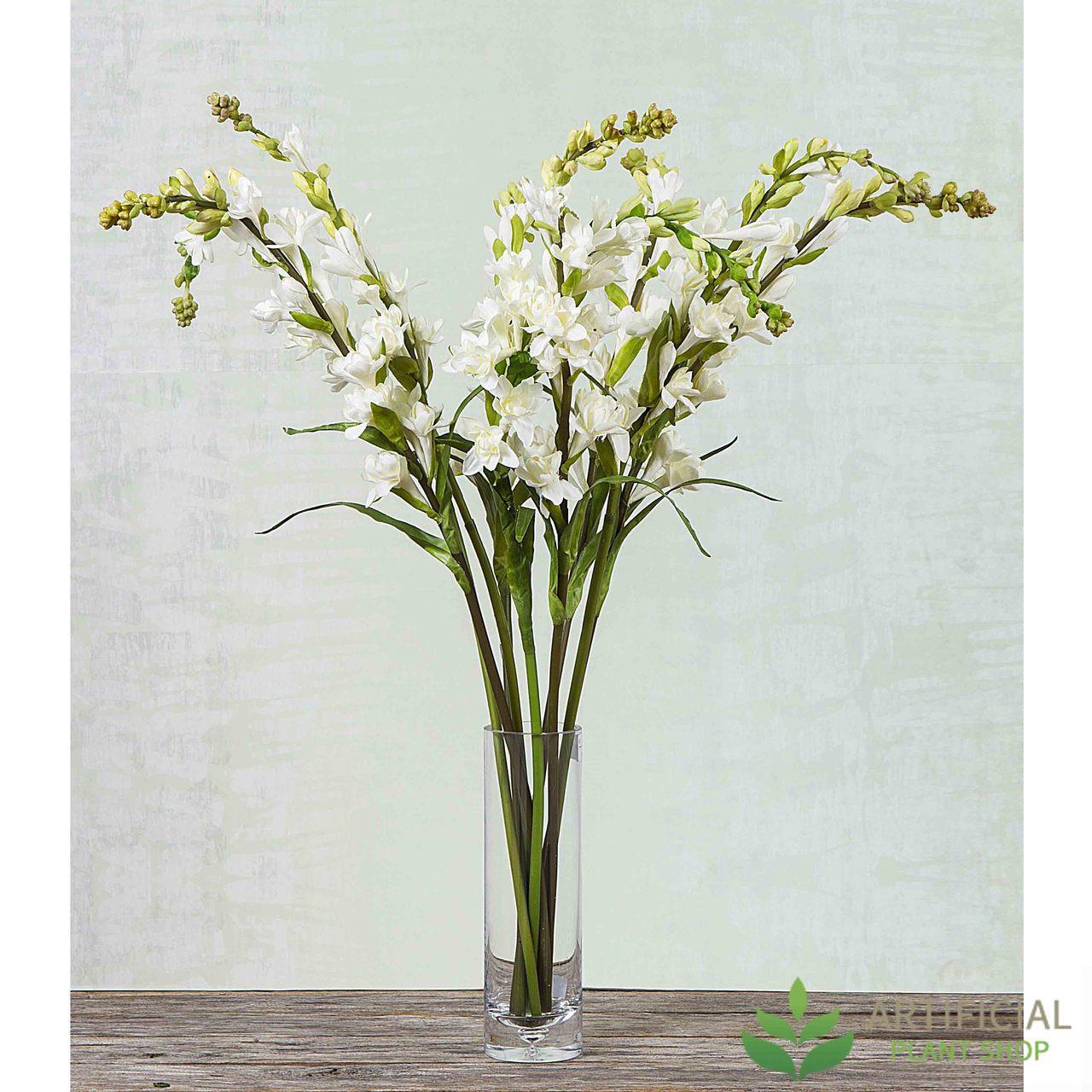 Artificial Flower Bundle - Cream Tuberose