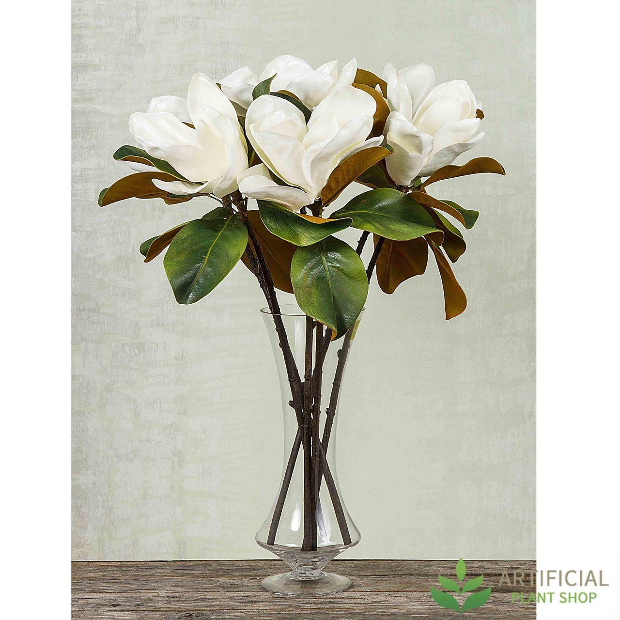 Artificial Magnolia Flower Bundle