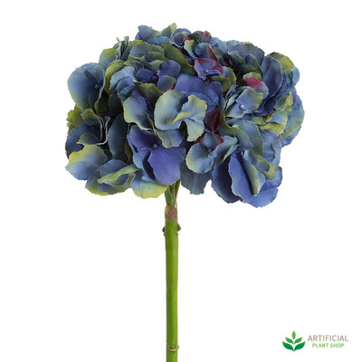 Dark Blue Hydrangea 50cm (pack of 6)