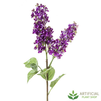Artificial Lilac Spray 80cm
