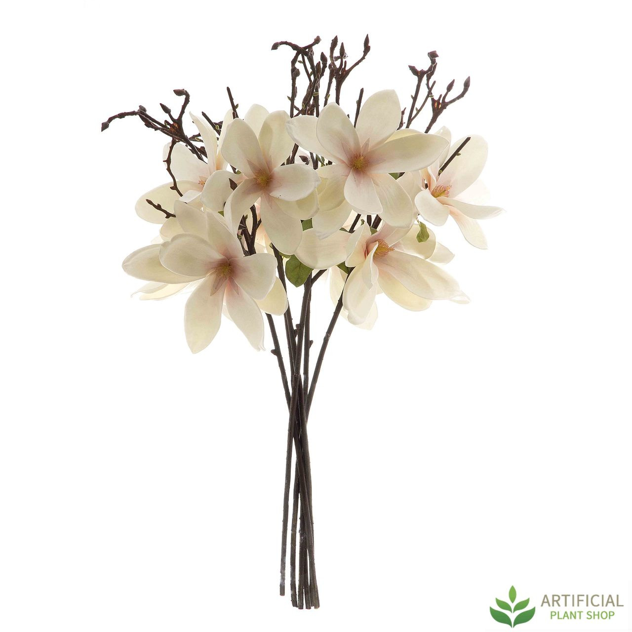 Artificial Magnolia Flower bundle