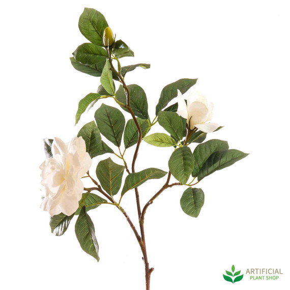 White Gardenia Spray 80cm