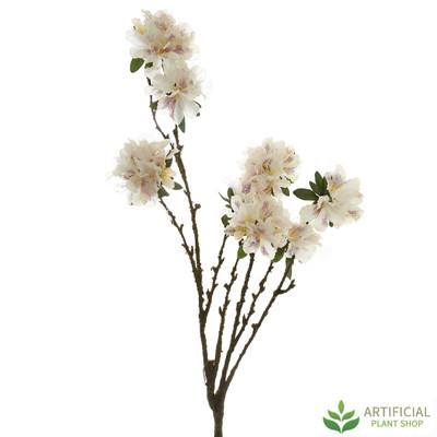 White Rhododendron Spray 1.3m