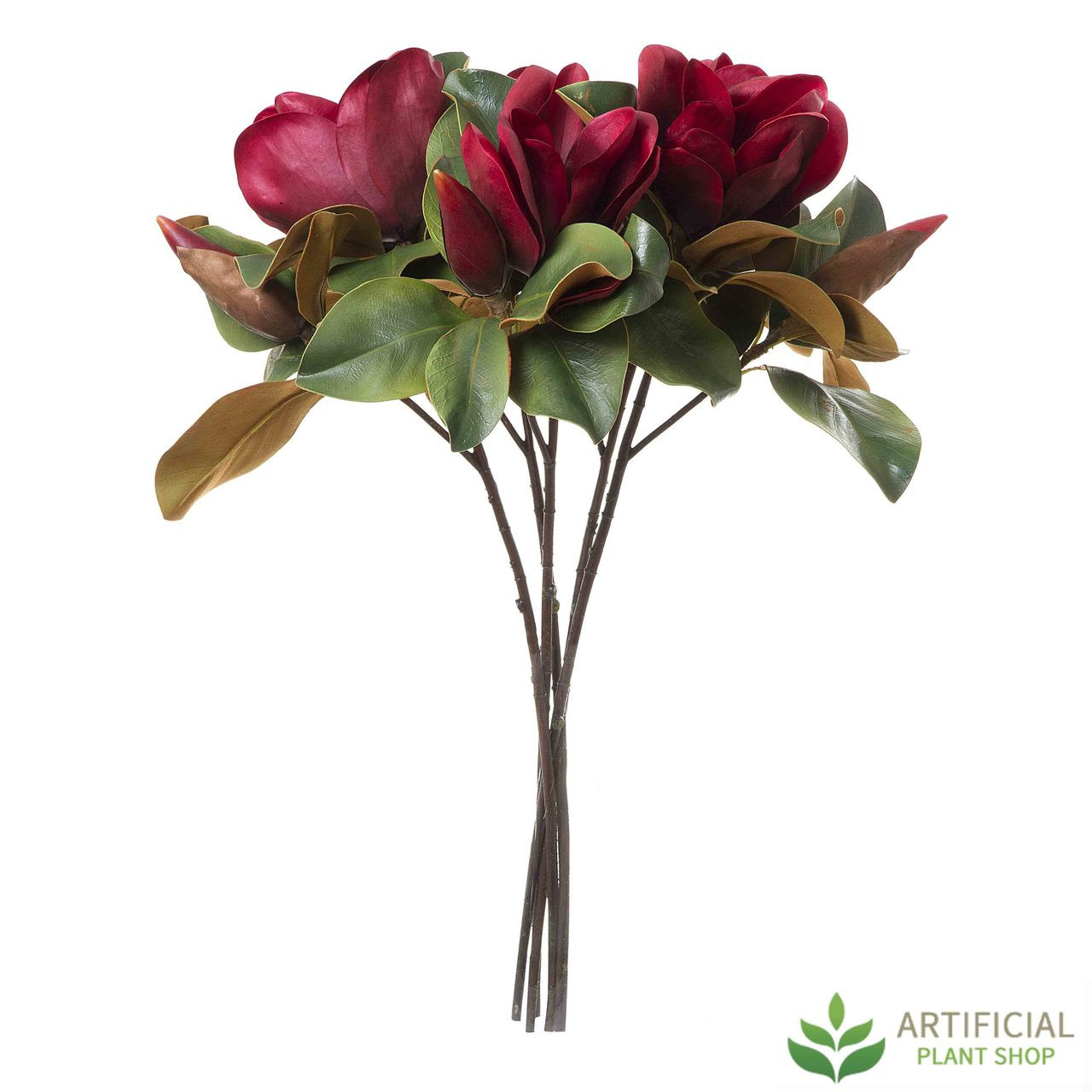 Red Magnolia Flower Bundle