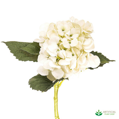 Artificial Cream Water Hydrangea 49cm