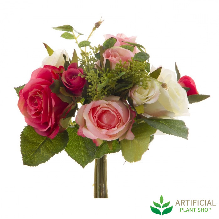 artificial flowers bouquet 27cm