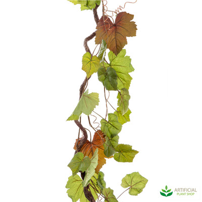 artificial vine leaf garland