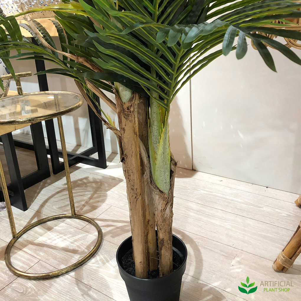 artificial palm tree trunks