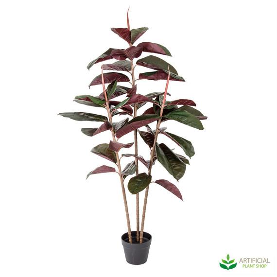 artificial rubber tree 1.4m
